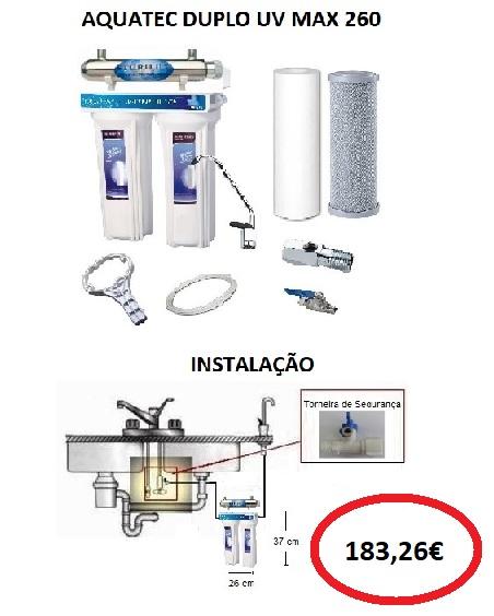 AQUATEC DUPLO UV MAX 260