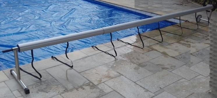 enrolador piscina
